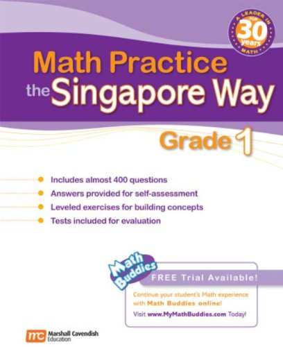 - Math Practice the Singapore Way, Grade 1