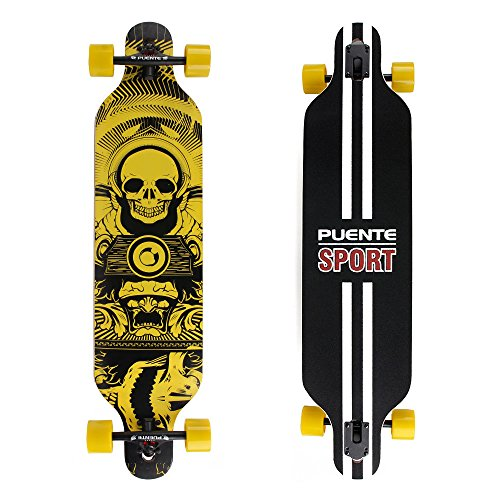 Professional Complete Through Longboard Skateboards