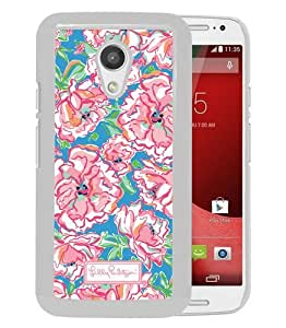 Motorola Moto G 2nd Generation Lilly Pulitzer (4) White Screen Phone Case Grace and Cool Design