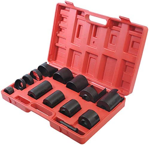 Cclife 14tlg Universal Kugelgelenk Abzieher Adapter Traggelenk Ausdrücker Set Installationsset Auto