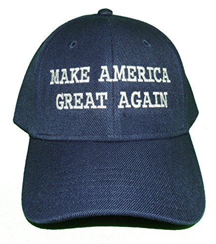 A2S Make America Great Again Donald Trump USA 2016 Embroidered Hat 4 Colors - Navy - OSFA - Knock Wholesale Items Off
