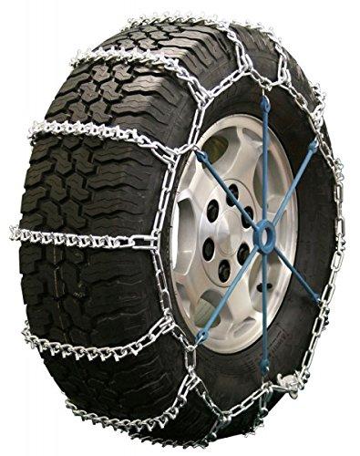 Quality Chain Road Blazer Non-Cam 5.5mm V-Bar Link Tire Chains (2829)
