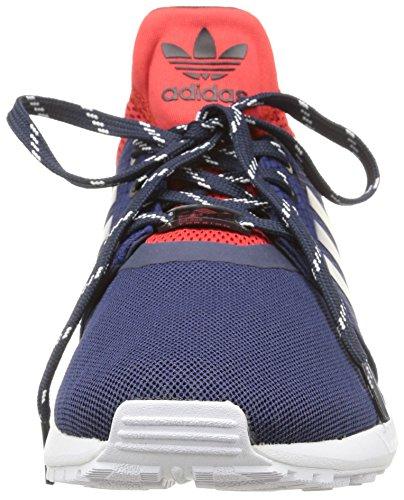 Dark Blue Basses Bleu adidas Flux Red Baskets NPS Homme UPDT Blue Dark ZX wzaqHB8