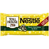 Nestle Toll House Dark Chocolate and Mint Morsels, 10-Ounce (Pack of 6)