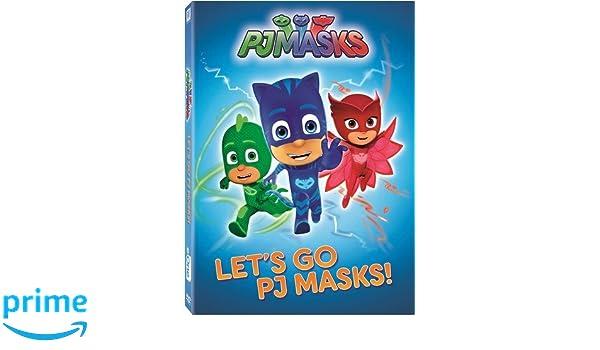 Pj Masks: LetS Go Pj Masks Edizione: Stati Uniti Italia DVD: Amazon.es: Cine y Series TV