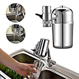 SPWIS Faucet Mount Water Filter,Tap Faucet Filtration,Best Filter System Cartridge,Drinking Water Filter,Advanced Healthy Water Purifier,for Kitchen and Bathroom Sink