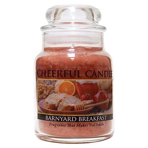 barnyard breakfast jar candle