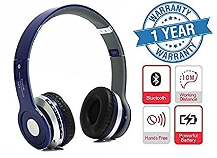 d70fc7daed7 Image Unavailable. Image not available for. Colour: Drumstone S450 Foldable  On-ear Wireless Stereo Bluetooth Headphones Supports ...