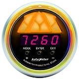 Auto Meter 3387 Sport-Comp 2-1/16'' Level 1 Digital Pro-Shift System Shift Light Gauge