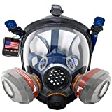 PD-101 Full Face Organic Vapor Respirator – Full