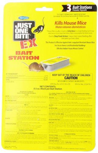 Farnam Just One Bite EX Bait Station, 3-Unit