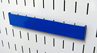 product image for Wall Control Pegboard 8in Accessory Hanger Tool Holder Bracket Pegboard Accessory for Wall Control Pegboard and Slotted Tool Board – Blue