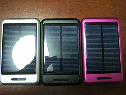 Generic Solar Powered 30000mAh Dual USB Power Bank Portable Battery Charger Black