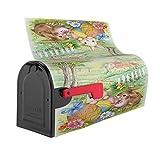 Vintage Easter Bunnies Eggs Soft Mailbox