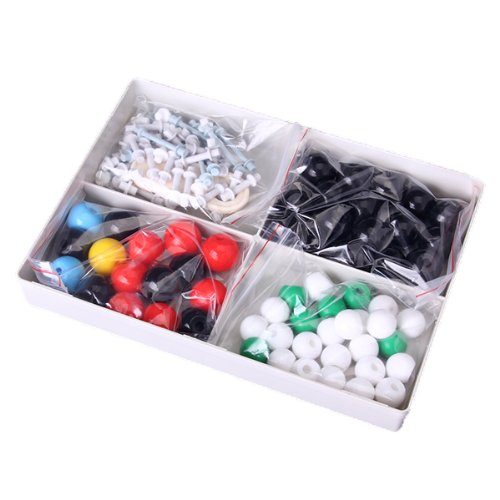 Molecular Model Set Kit General and Organic Chemistry / Bright Colors and Fine Workmanship, Great to Stimulate Students' Learning Interest