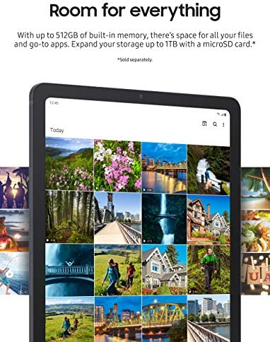 Samsung Galaxy Tab S7+ Wi-Fi, Mystic Black - 128 GB