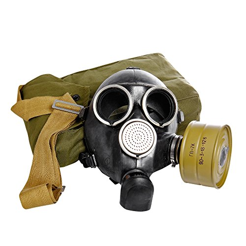 Vintage Soviet Russian Gas Mask GP-7v. All sizes.