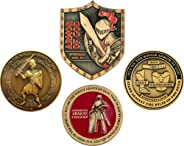 Discounted Armor of God Challenge Coin Set - The Complete Collection