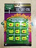 Classic Tic-Tac-Toe ~ Travel Game ~ Fluorescent Green version!