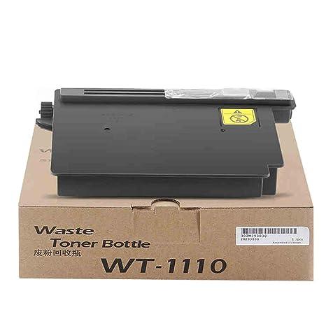 Amazon.com: Compatible con KYOCERA WT-1110 caja de tóner de ...