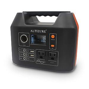 ALTIZURE 296Wh AC出力300W ポータブル電源