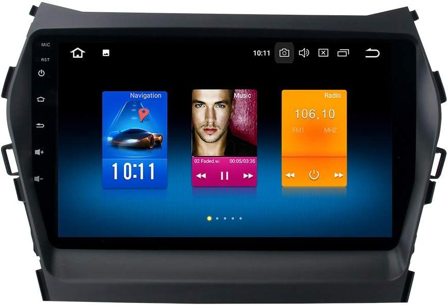 Dasaita Android 8.0 Car Stereo for Hyundai Santa Fe IX45 2013 2014 ...