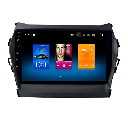 Dasaita Android 8.0 Car Stereo for Hyundai Santa Fe IX45 2013 2014 2015 2016 2017 Radio with 9
