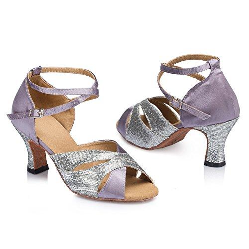 Purple 8cm heel bal femme Salle Miyoopark de gq7IUxw