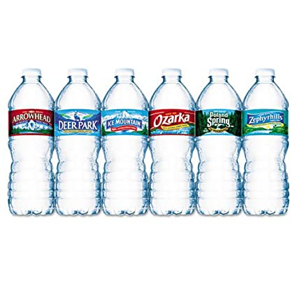 9c7712cc1e Amazon.com: Nestle Waters Bottled Spring Water, .5L, Bottles, 1728/Pallet:  Home Audio & Theater