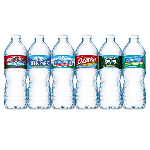 Nestle Waters Bottled Spring Water, .5L, Bottles, 1728/Pallet