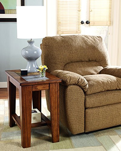 rustic rich warm brown chair
