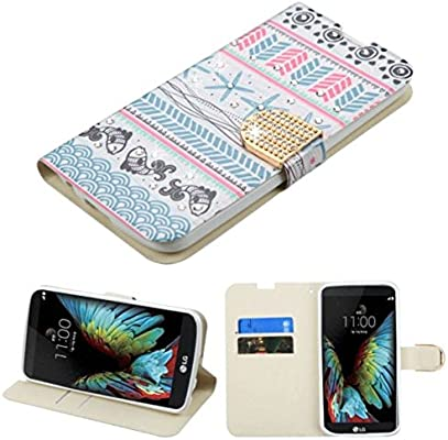 MyBat Wallet Case for LG L62VL (Premier LTE), LG K10 - Jumping Fishes