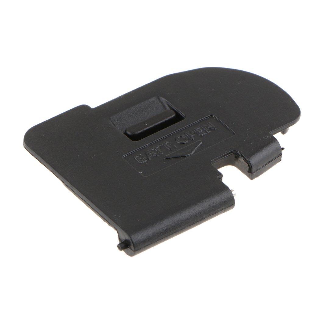 perfk Tapa de Puerta de Baterí a para Para Canon Eos 5d Mark Ii 5d2- Tapa de Baterí a Durable y Plà stico Accesorios -Negro