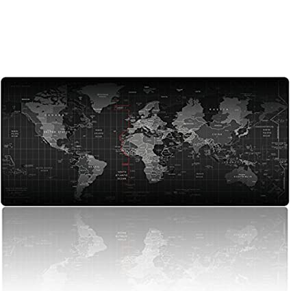 Amazon Com Imegny Extended Gaming Mouse Pad Keyboard Mouse Mat
