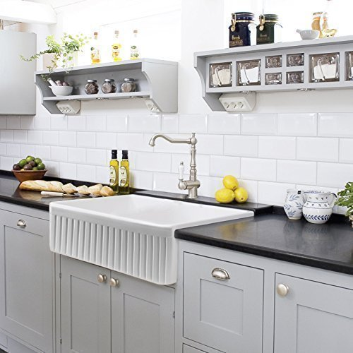 Farmhouse Kitchen Sink White