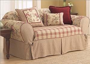 Lexington Sofa Skirted Slipcover