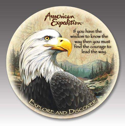 (American Expedition Bald Eagle Stone Coasters (4))
