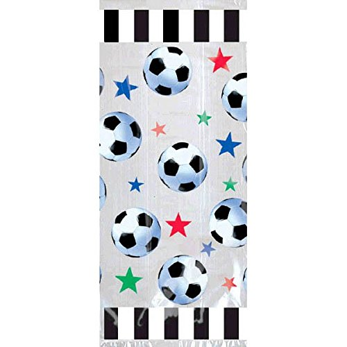 Amscan Soccer Large Party Bags, Party Favor]()