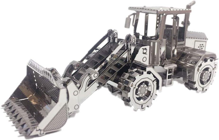 "3D Jigsaw Toys, Simulation Bulldozer Metal Assembly Model (3.4\"" X 1.3\"" X 1.5\"") 515zeUuXY2LSL1000_"