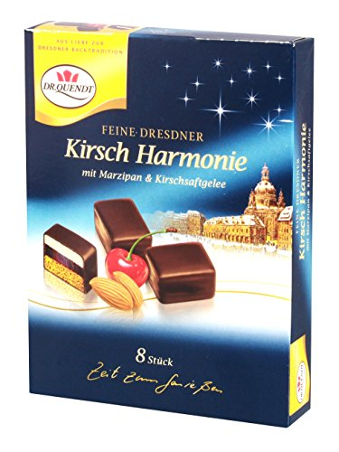 Domino Chocolate - Dominosteine Dr. Quendt Kirsch Harmonie Dominoes