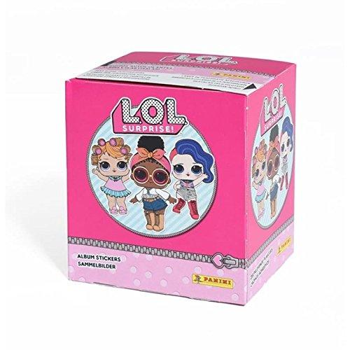 Panini L.O.L Surprise Stickerkollektion - Box B07CSJ56HB Sammelsticker Vorzüglich   Bunt,