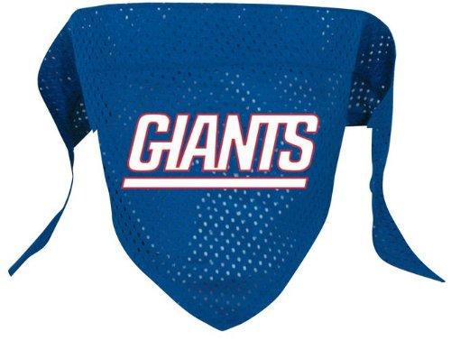 Hunter New York Giants Pet Dog Football Jersey Bandana S/M