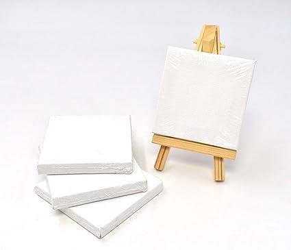 Deco Mini chevalet Set chevalet avec cadre 7 x7 Cm