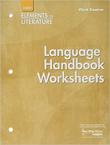 Elements of literature language handbook worksheets grade 7 first elements of literature language handbook worksheets grade 7 first course fandeluxe Choice Image