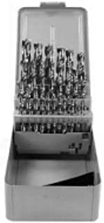 product image for 29 Pc Set High Speed Steel Regular Point Drill Short Length 1/16-1/2
