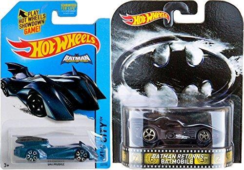 Brave Batmobile Retro Entertainment Hot Wheels Batman Returns & Batman Brave & The Bold #63 2015