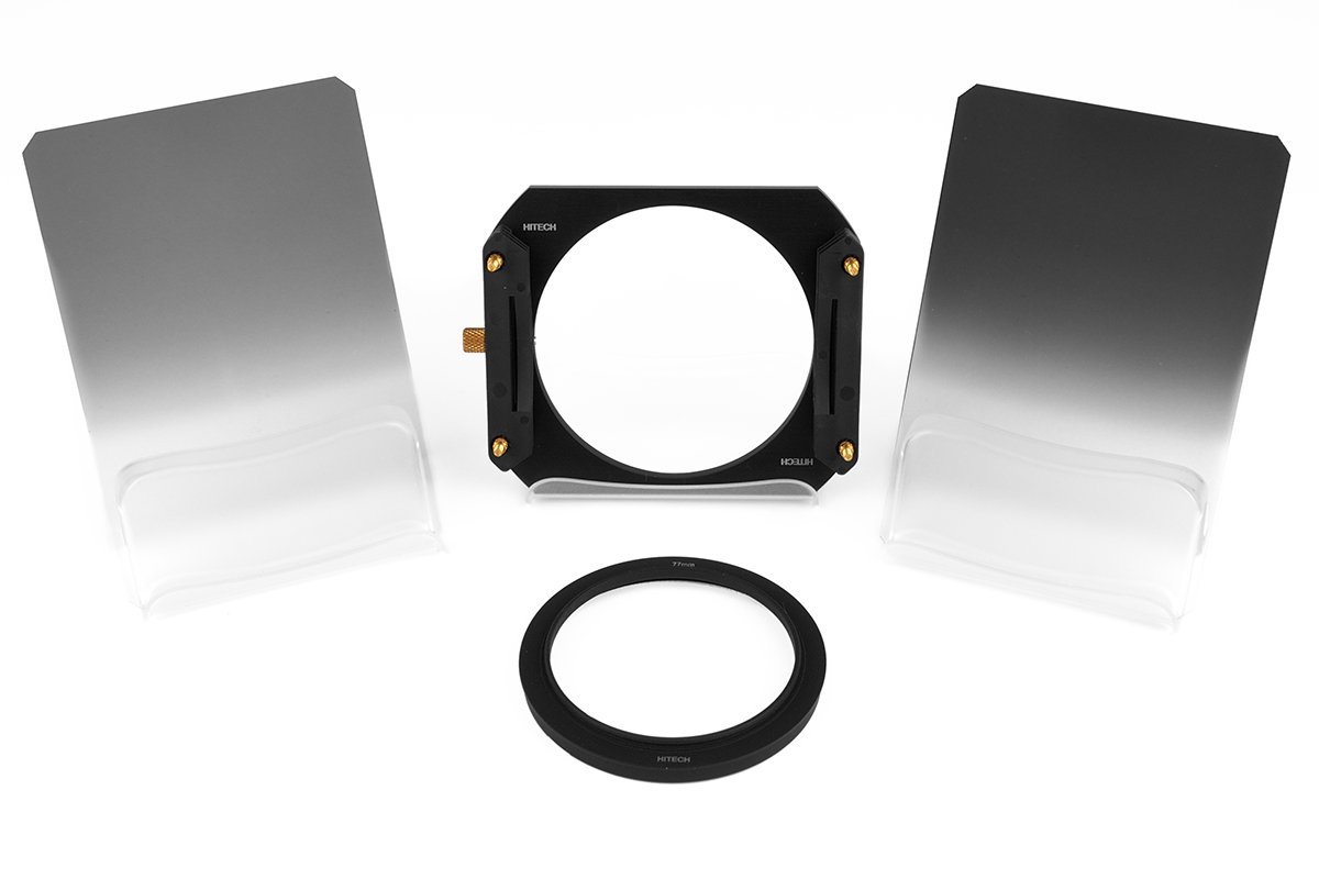 Formatt-Hitech 85x110mm (3.35x4.35'') Resin ND Grad Soft Edge Starter Kit with 58mm Adapter