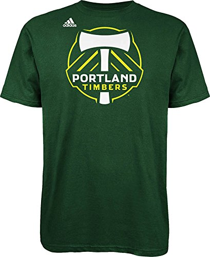 Mls Portland Timbers Mens Logo Set Tee  Small  Green