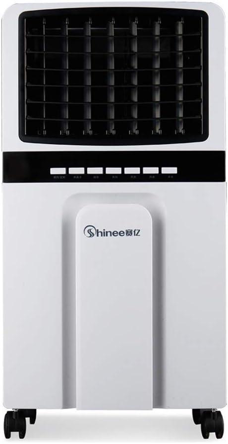 Silenciador súper eólico industrial ventilador de aire acondicionado 3 en 1 industrial con ventilador de humidificador