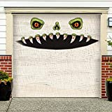 CCINEE Halloween Monster Face Decoration,Large Size